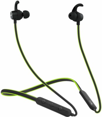 boAt Bluetooth Headset with Mic (In the Ear) Bluetooth Headset with Mic(Green, Black, In the Ear)