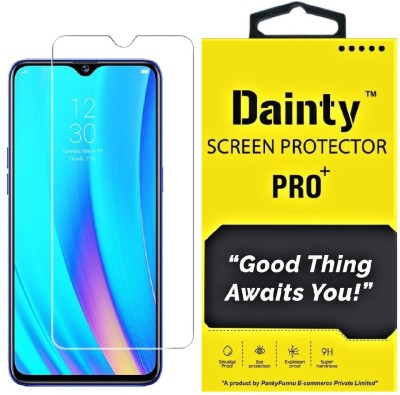 Dainty Tempered Glass Guard for Realme XT, Realme X2(Pack of 1)
