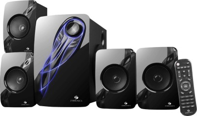 Zebronics Jelly Fish 73 W Bluetooth Home Theatre(Black, 4.1 Channel)