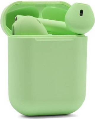 CHG InPods12 Wireless Bluetooth Headset G4 Bluetooth Headset(Green, True Wireless)