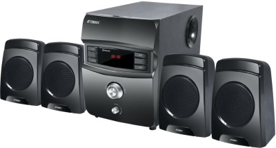 etmax Romeo Series 4.1 Home Cinema(4.1 home theater with Bluetooth, AUX, FM/AM Radio, SD Card, USB)