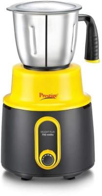 Prestige QWER123 Delight Plus 750 Watts Mixer Grinder 750 Mixer Grinder(Multicolor, 4 Jars)