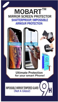 MOBART Impossible Screen Guard for Nokia Asha 206(Pack of 1)
