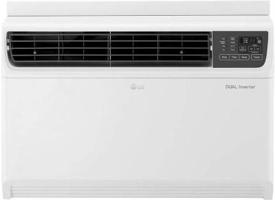 View LG 1.5 Ton 3 Star Window Dual Inverter AC  - White(JW-Q18WUXA, Copper Condenser) Price Online(LG)