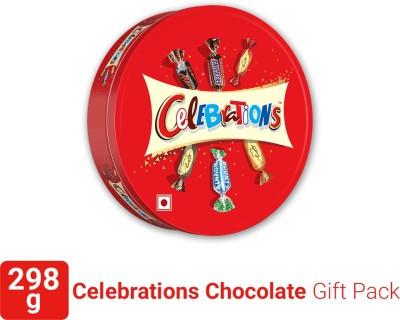 Mars Assorted Chocolate Gift Pack Tin Box Bars  (298 g)