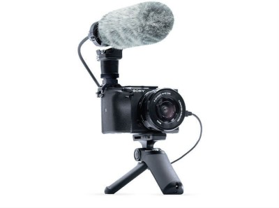 Sony Alpha ILCE-6400L Mirrorless Camera Vlogger Starter kit(Black)