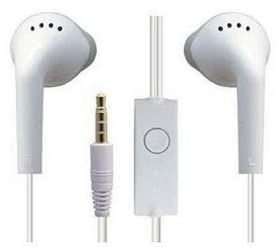 Samsung Original EHS-61 Wired Headset(White, In the Ear)