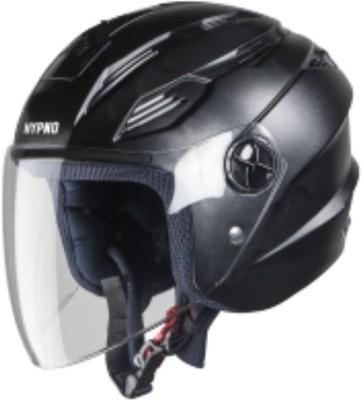 Steelbird AIR SBA-6 HYPNO BLACK Motorbike Helmet(Black)