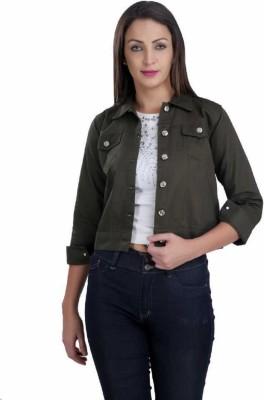 STC Full Sleeve Solid Women Jacket