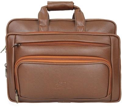 Leatherworld 15.6 inch Laptop Messenger Bag Tan Leatherworld Laptop Bags