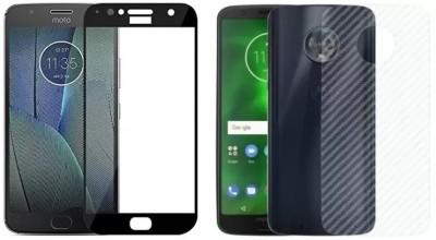 Bigil Screen Protector Accessory Combo for Moto G5s Plus(Black & Transparent)