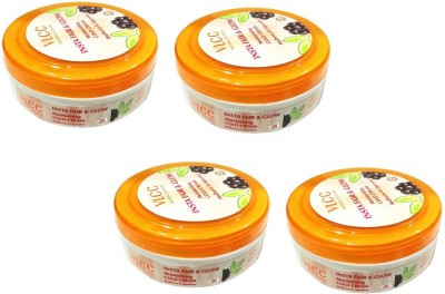 VLCC Fair and Glow Moistorizing Cold Cream Set of 4(300 g)