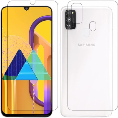 Yoox Front and Back Screen Guard for Samsung Galaxy M30s(Pack of 2)