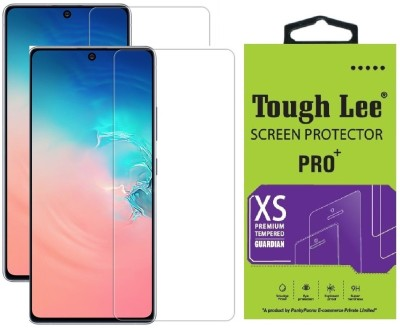 Tough Lee Tempered Glass Guard for Samsung Galaxy S10 Lite(Pack of 2)