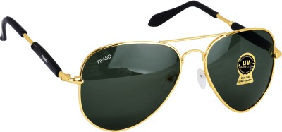 PIRASO Aviator Sunglasses(Black)