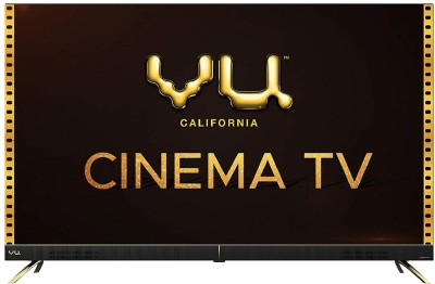 Vu 108cm (43 inch) Ultra HD (4K) LED Smart Android TV(43CA)