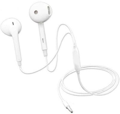 PHOLOR Genuine Quality Opp_o MH135 Earphone with Powerful Super Bass Wired Headset(White, In the Ear)