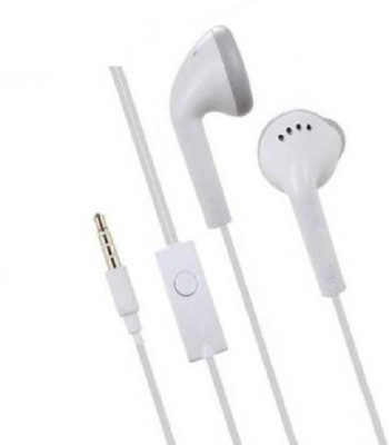 DOLEVAS Premium Quality Earphone SAM_SUNG DEVICE for YS Model Wired Headset(White, Wired in the ear)