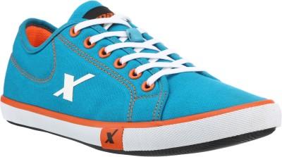 SPARX 283 Canvas Shoes For Men Blue, Orange SPARX Casual Shoes