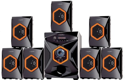 TECNIA Atom 702 Bluetooth 7.1 Channel Home Theater Multimedia Speaker System Bluetooth Home Theatre(Black, 7.1 Channel)