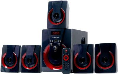 KRISONS Redblast 5.1 Bluetooth Home Theatre(Black, 5.1 Channel)