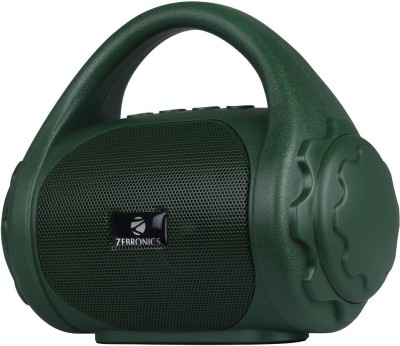 Zebronics Zeb-County 3 W Bluetooth Speaker(Green, Mono Channel)
