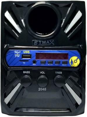 etmax NANO ET-1212 Bluetooth Tower Speaker(Black, 2.0 Channel)