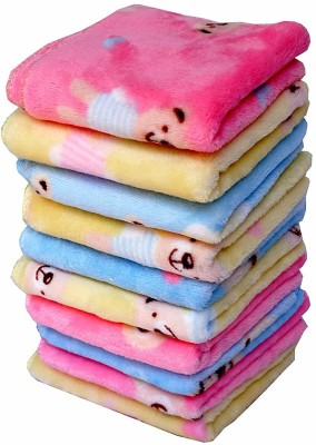 Sofex Cotton 100 GSM Face Towel(Pack of 10)