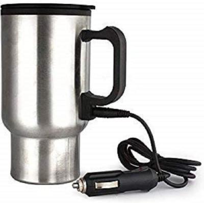 VACHHRAJ ENTERPRISE car mug usb 19 Cups Coffee Maker(Silver)