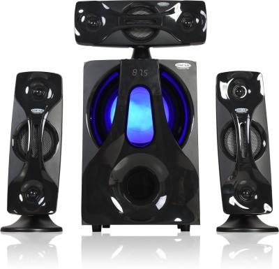 Oscar OSC-3180BT 3.1 Channel Multimedia Speaker System with Digital FM Radio 80 W Bluetooth Home Theatre(Black, 3 Channel)