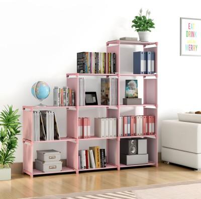 Flipkart Perfect Homes Studio Metal Open Book Shelf(Finish Color - Plain Pink)