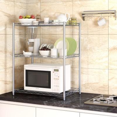 Flipkart Perfect Homes Studio Metal Kitchen Cabinet(Finish Color - Silver)
