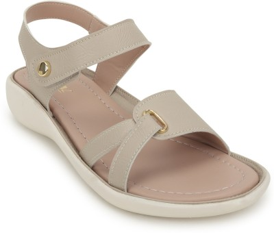 comfert feet Women Beige Wedges