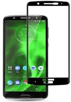 Brown Bee Edge To Edge Tempered Glass for Motorola Moto G6 Plus(Pack of 1)