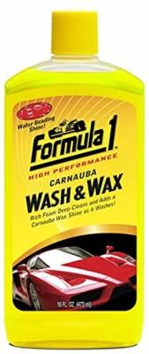Formula1 Car Wash and Wax Car Washing Liquid 473 ml Formula1 Vehicle Washing Liquid