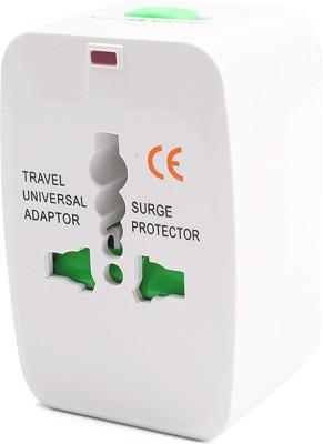Nema Universal World Travel AC Power Plug Convertor Adapter Worldwide Adaptor White Nema Laptop Accessories