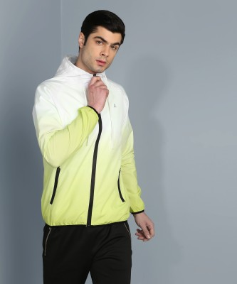 Adrenex Full Sleeve Ombre Men Jacket