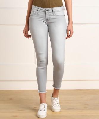 Pepe Jeans Super Skinny Women Grey Jeans