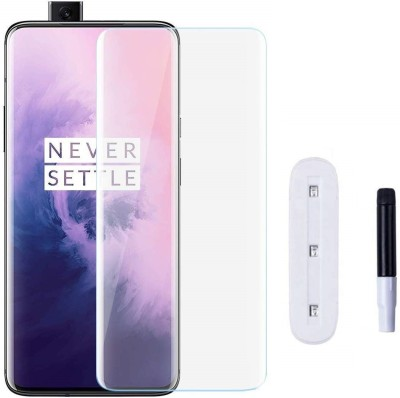 Tough Lee Edge To Edge Tempered Glass for Oneplus 7t Pro(Pack of 1)