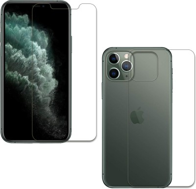 DCASE Front and Back Tempered Glass for Iphone 11 Pro(Pack of 2)