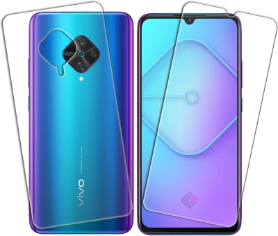 DCASE Front and Back Tempered Glass for Vivo S1 Pro(Pack of 2)