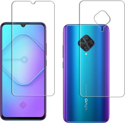 FashionCraft Front and Back Tempered Glass for Vivo S1 Pro(Pack of 2)
