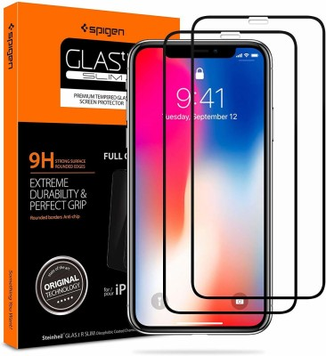 Spigen Tempered Glass Guard for APPLE IPHONE 11 PRO/ XS 5D(Pack of 2)