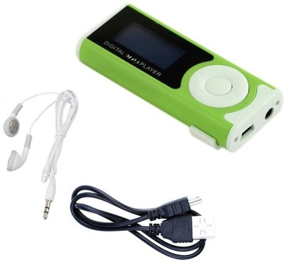 Blue Birds Mini MP3 player with LED Torch 002 64  GB MP3 Player Multicolor, 1.5 Display