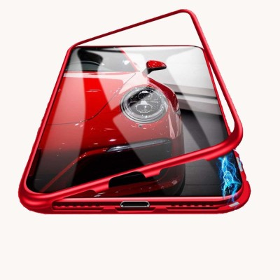 Mystry Box Back Cover for Realme 6 Pro(Red, Magnetic Case)