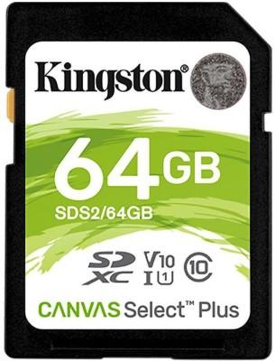 Kingston Canvas Select Plus 64 GB SDXC Class 10 100 MB/s Memory Card
