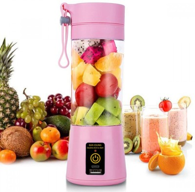 Play Run Dual USB Jiucer NG-01 12 Juicer(Pink, 1 Jar)