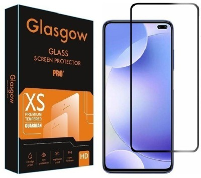 Glasgow Edge To Edge Tempered Glass for Poco X2(Pack of 1)