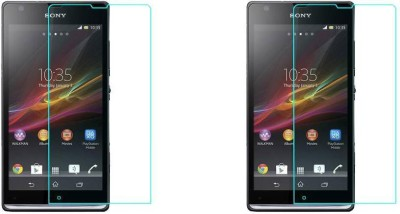 BABBU MOBILE Impossible Screen Guard for Sony Xperia Sp(Pack of 2)