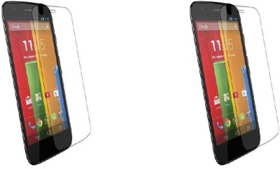 MudShi Impossible Screen Guard for Motorola Moto G(Pack of 2)